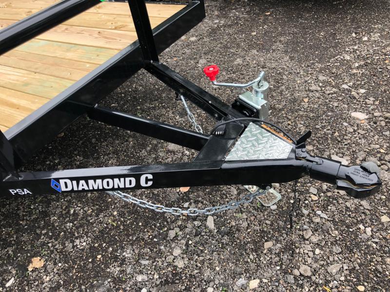 2019 Diamond C Trailers PSA135 12X72 Utility Trailer