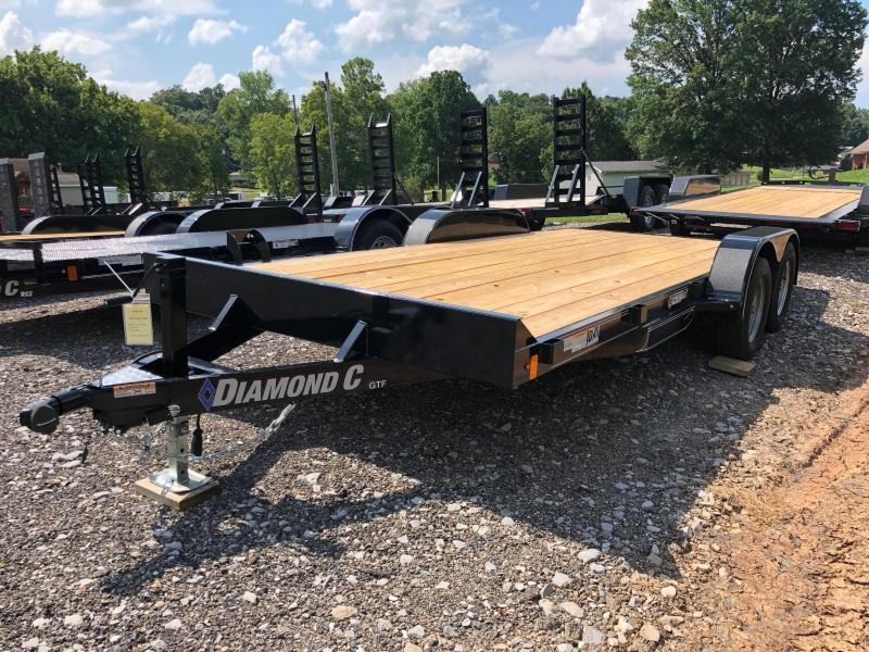2020 Diamond C Trailers GTF235 18X83 Car Trailer