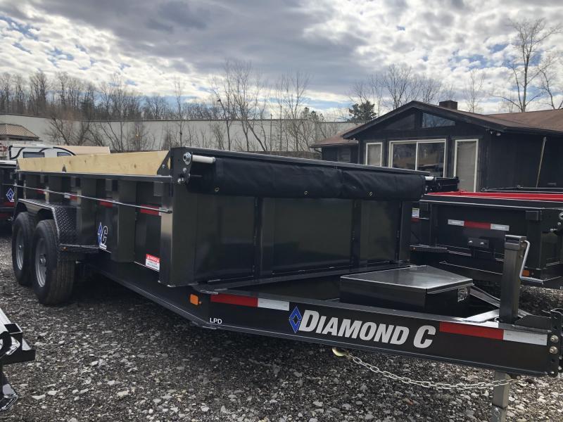 2020 Diamond C Trailers LPD207 14X82 Dump Trailer