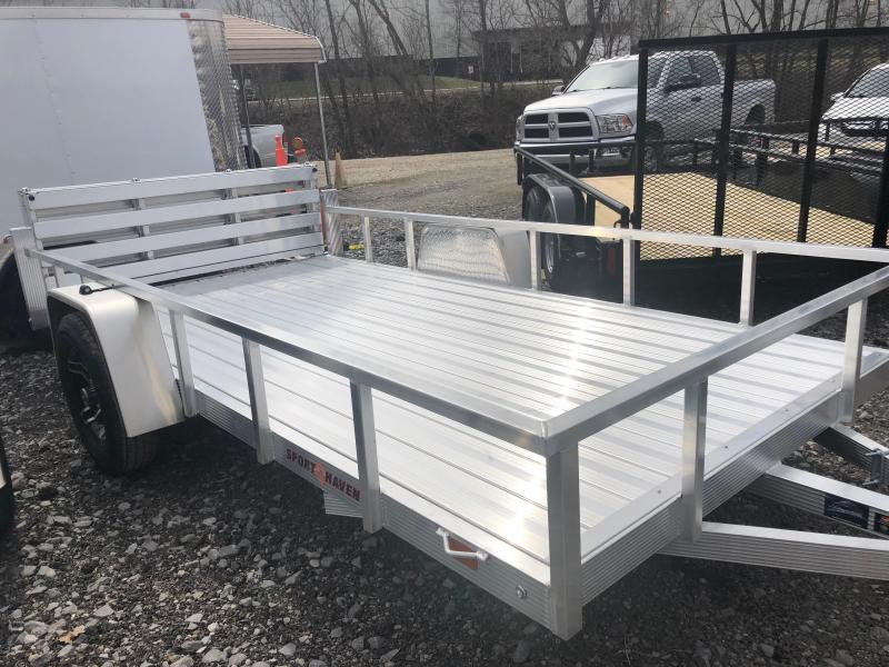 2020 Sport Haven AUT612D-F Utility Trailer