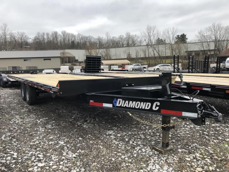 2020 Diamond C Trailers DET207 24X102 Equipment Trailer