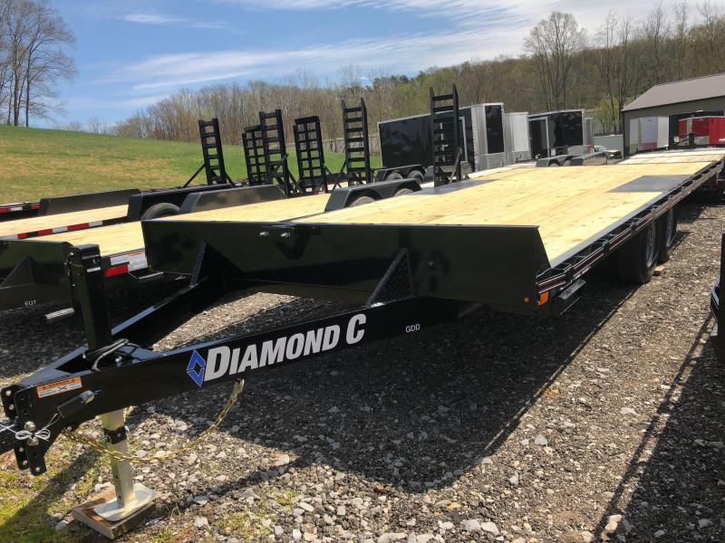 2020 Diamond C Trailers GDD252 20X102 Equipment Trailer