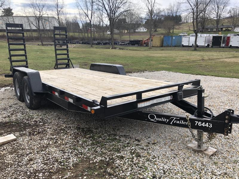 2018 Quality Trailers 82X18 Equipment Trailer