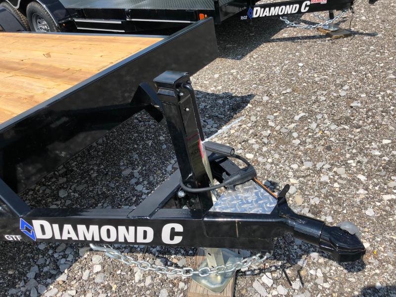 2019 Diamond C Trailers GTF235 20X83 Car Trailer