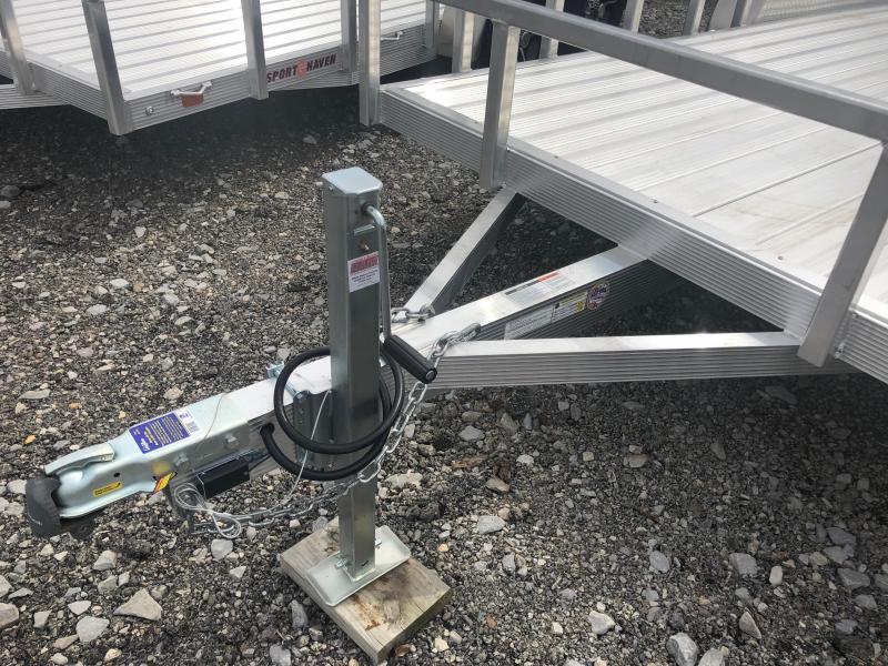 2019 Sport Haven AUT716TD-F Utility Trailer