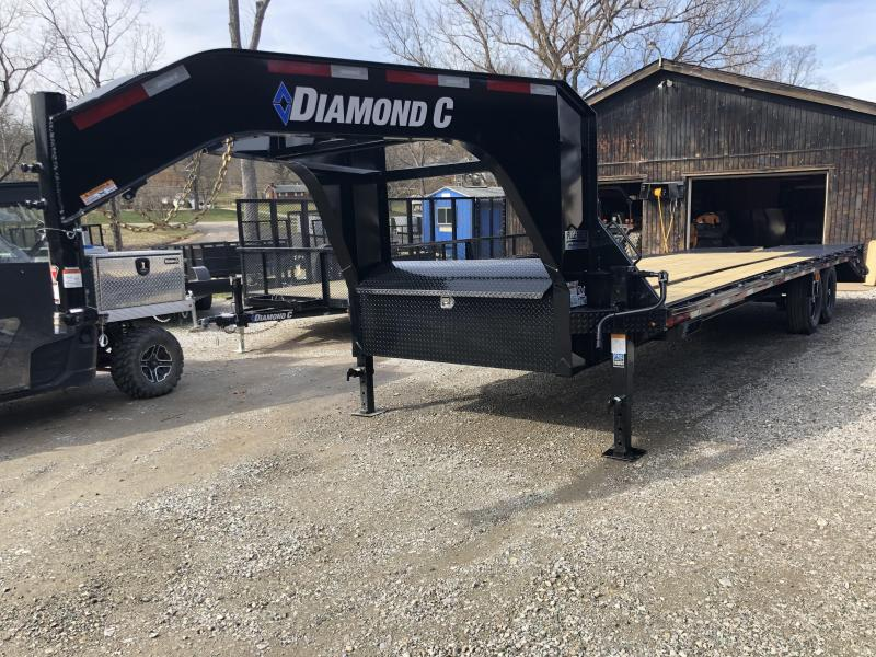 2020 Diamond C Trailers FMAX207L25X102MR Equipment Trailer