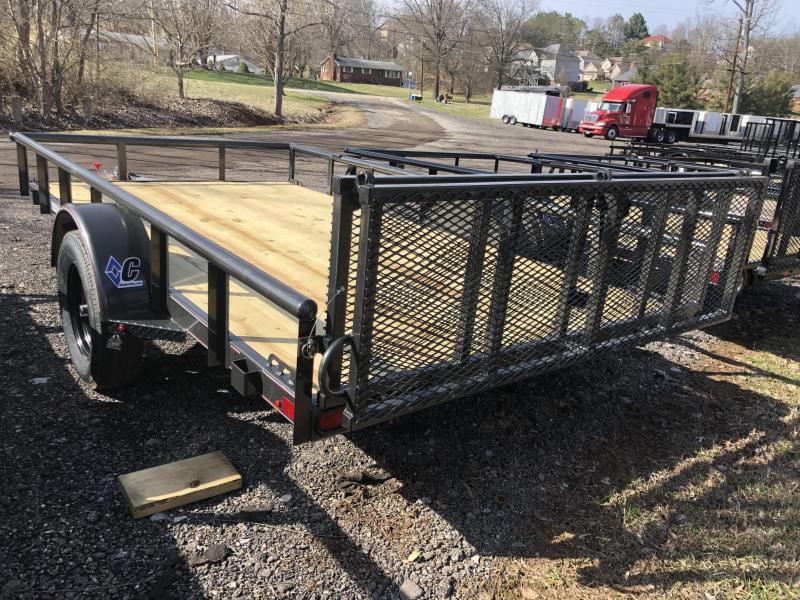 2020 Diamond C Trailers PSA135 12X77 Utility Trailer