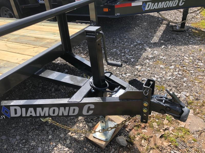 2019 Diamond C Trailers TUT252L20X82 Utility Trailer