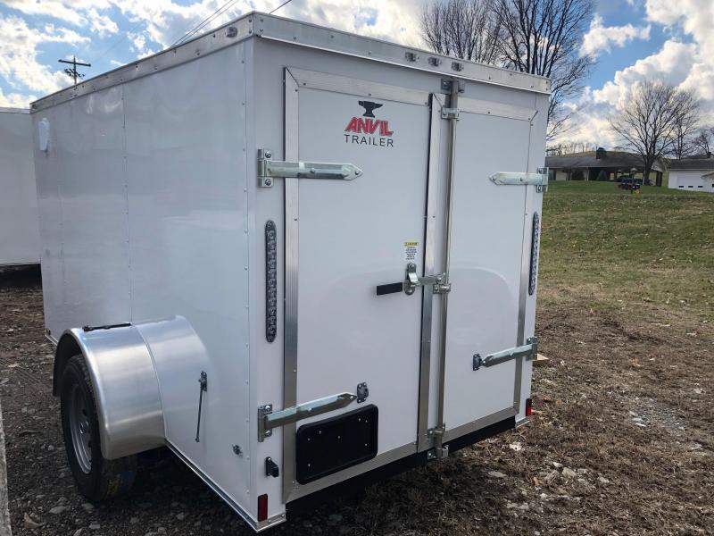 2019 Anvil AT5X10SA Enclosed Cargo Trailer w/ Barn Doors