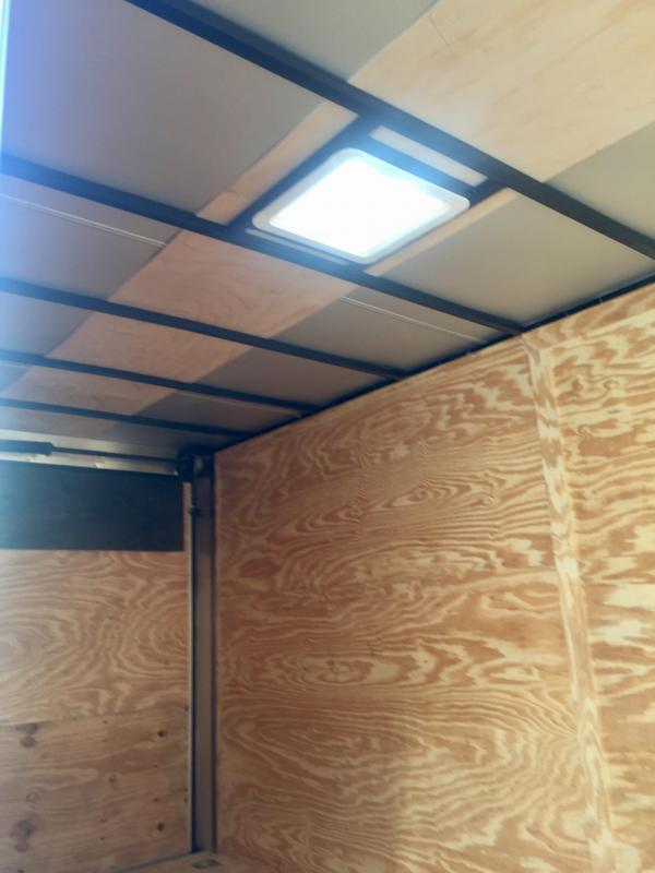 2020 Anvil AT7X16TA2 Enclosed Cargo Trailer w/ 7' Interior Height