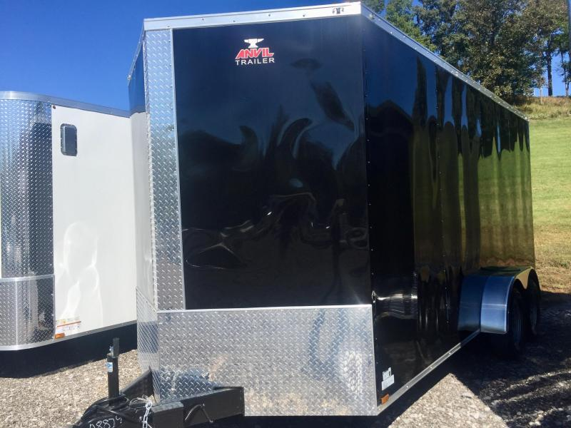 2020 Anvil AT7X16TA2 Enclosed Cargo Trailer w/ 7' Interior Height