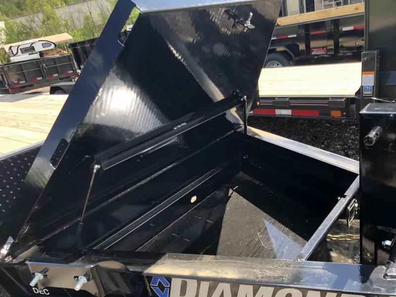 2020 Diamond C Trailers DEC207 24X102 Equipment Trailer
