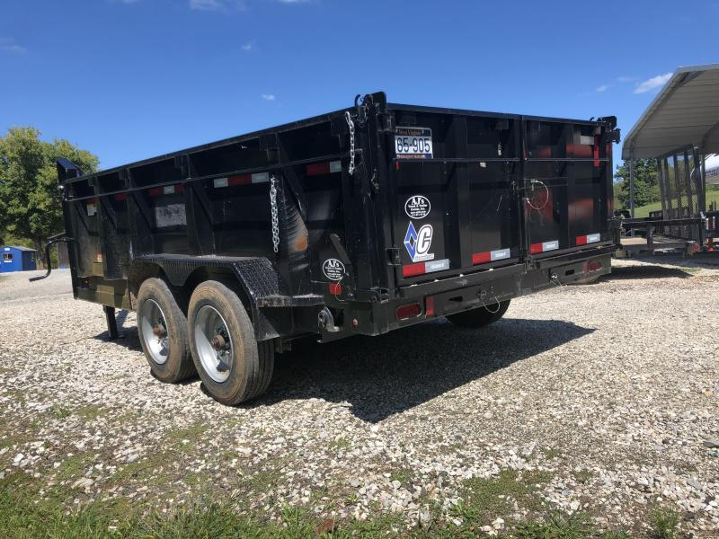 2017 Diamond C Trailers 21WD 16X96 Dump Trailer