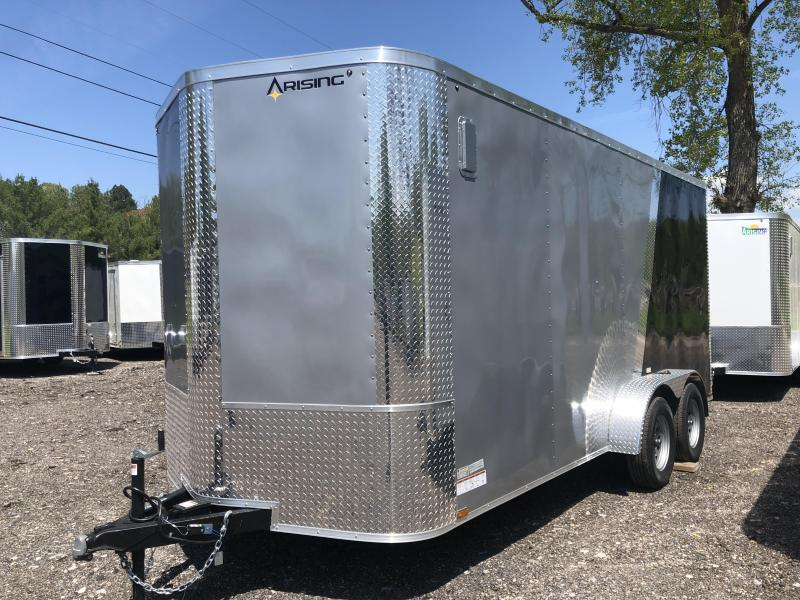 2020 Arising 716VTRSM 2-TONED Enclosed Cargo Trailer w/ 7' Interior Height