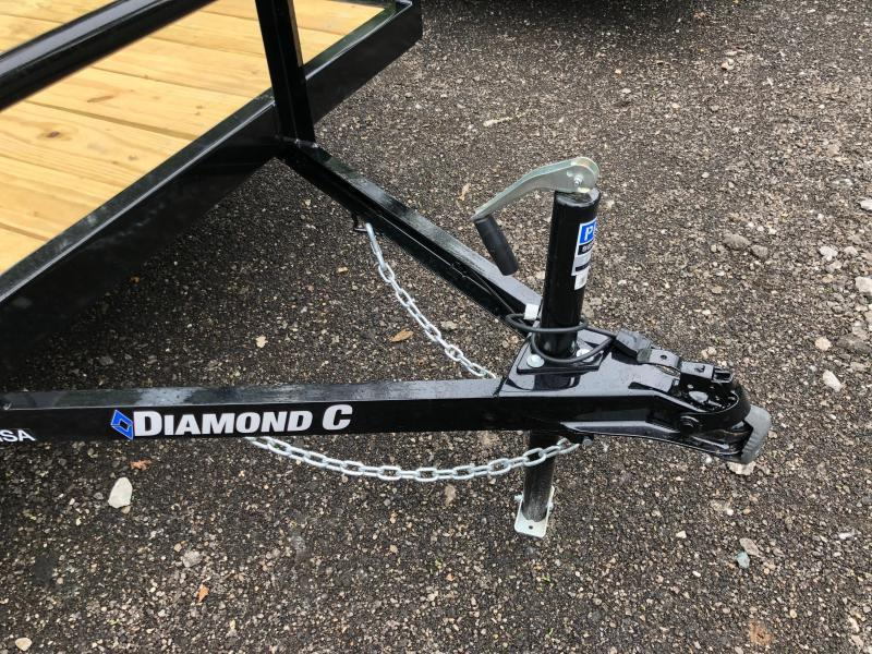 2020 Diamond C Trailers GSA135 14X77 Utility Trailer