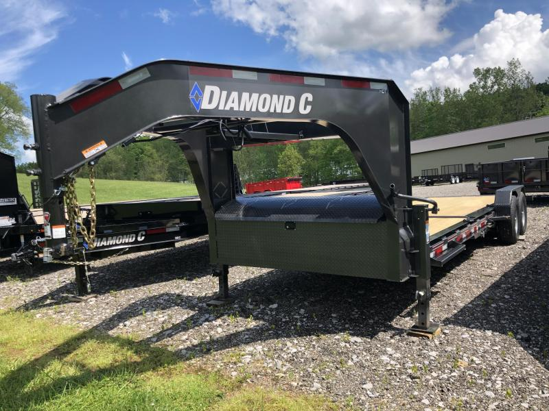 2020 Diamond C Trailers HDT207 24X82 Equipment Trailer