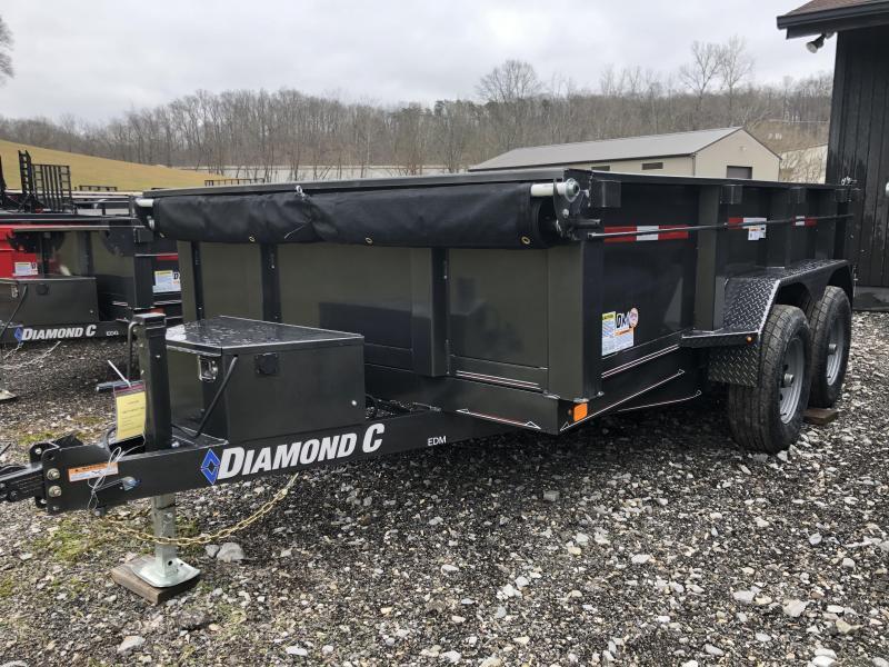 2020 Diamond C Trailers EDM252 12X82 Dump Trailer