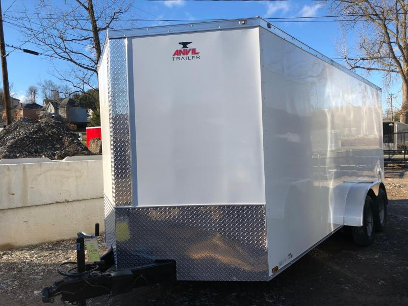 2019 Anvil AT7X16TA2 Enclosed Cargo Trailer w/ Barn Doors