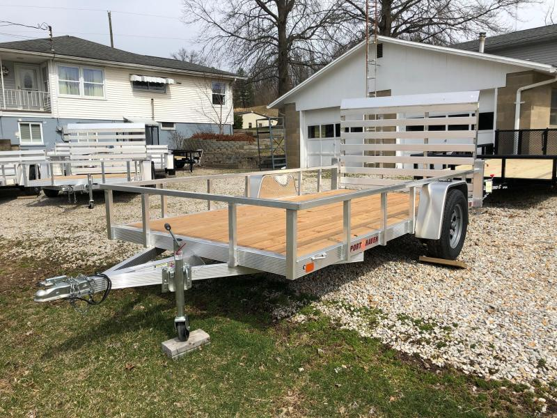 2020 Sport Haven AUT612 Aluminum Utility Trailer
