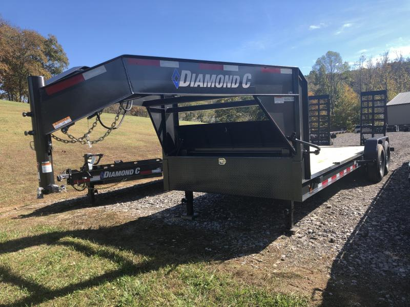 2020 Diamond C Trailers LPX207 20X82 Equipment Trailer