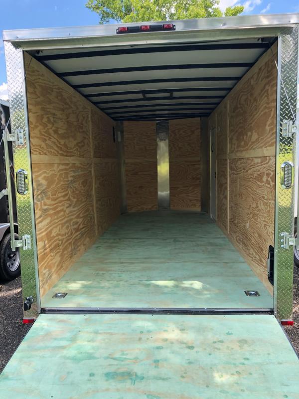 2020 Arising 716VTRB 2-Toned Enclosed Cargo Trailer 7' Interior Height