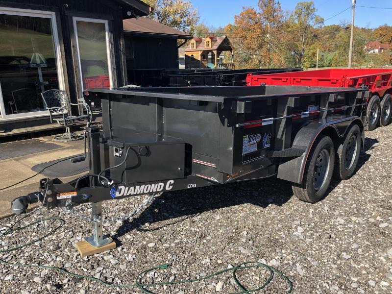 2020 Diamond C Trailers EDG235 10X60 Dump Trailer