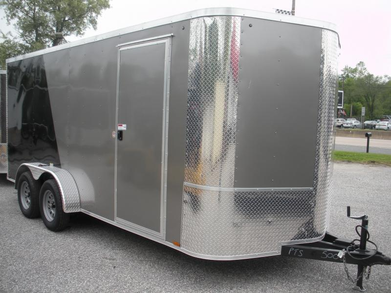 2019 Arising 7' X 16' 7K 6'6 w/E-Track Enclosed Cargo Trailer