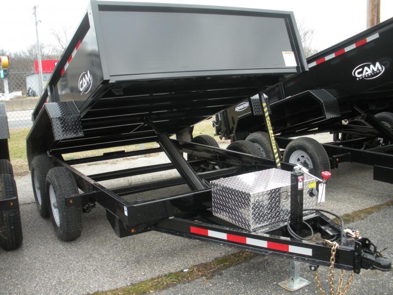 """HOT DEAL"" 2020 Cam Superline 6' X 10' 10K Low Profile Dump Trailer"
