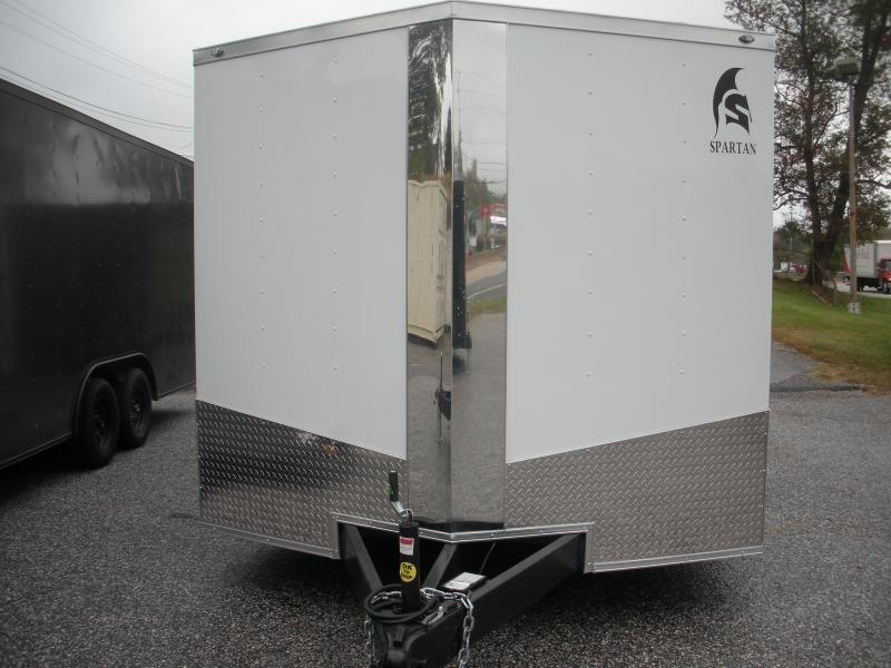 2020 Spartan 8.5' X 20' X 7' Height 10K .030 White Metal & Thermo Cieling Car / Racing Trailer