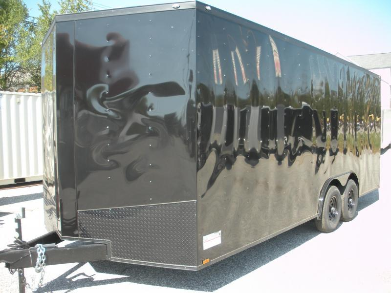 2020 Spartan 8.5' X 20' X 7' Height 7K Black/ Black Trim Car / Racing Trailer