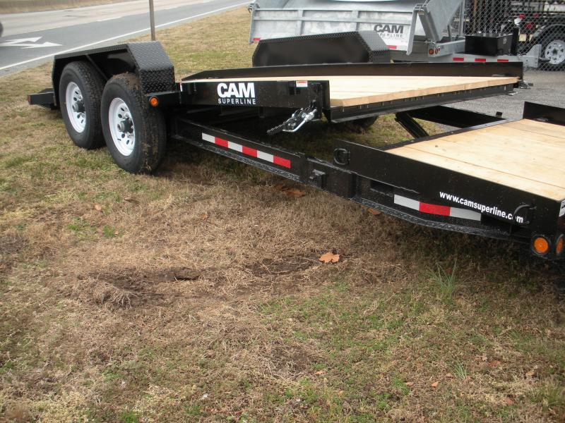 2019 Cam Superline 7CAM20STT Split Deck Tilt Trailer Equipment Trailer