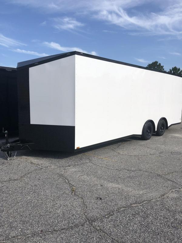 2020 Anvil 8.5' X 24' X 7' Height 10K Torsion Spread Axle Car / Racing Trailer**HURRY BEFORE IT'S GONE***BUY IT NOW* FURTHER REDUCTION TAKEN**BEST DEAL ON A 24' YOU'LL EVER FIND