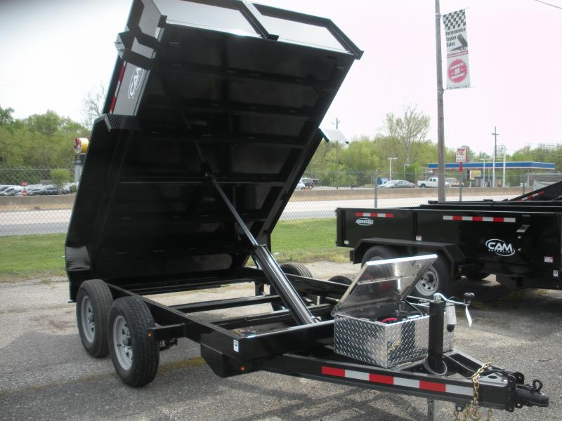 2020 Cam Superline 6' X 10' 8K Low Profile Dump Trailer