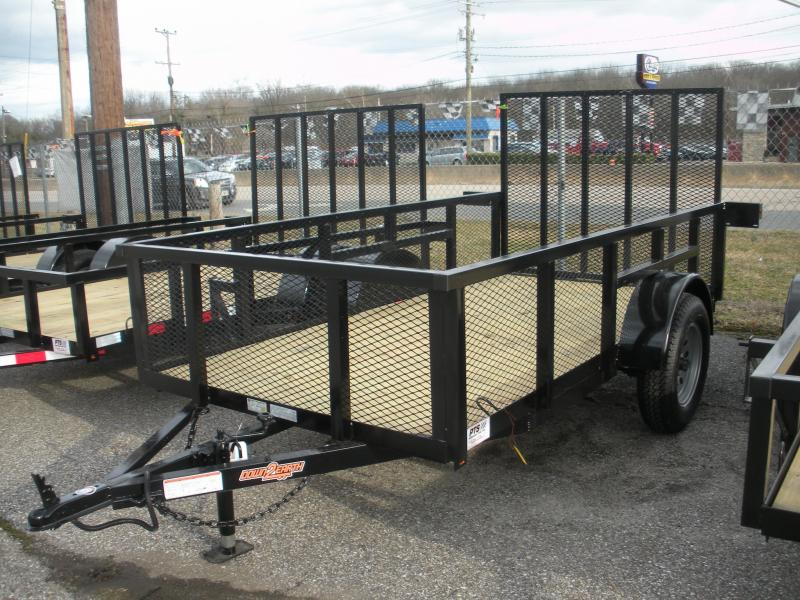 "2019 Down 2 Earth Trailers 5' X 10' 3K with 24"" Mesh Sides Utility Trailer"