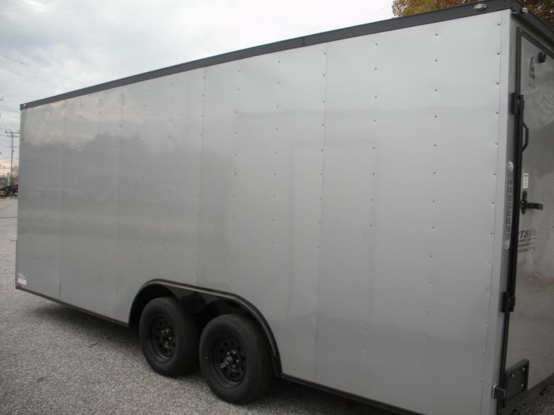 2020 Spartan 8.5' X 20' X 7' Interior Height 7K Silver/ Black Trim Car / Racing Trailer