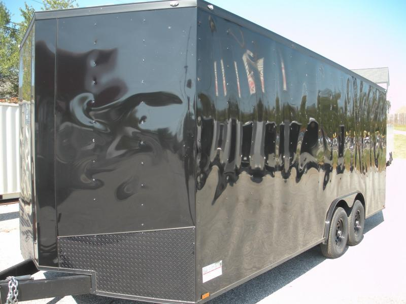 2020 Spartan 8.5' X 20' X 7' Height 10K Charcoal with Black Trim Car (shown in black with black trim) DUE IN 2/28 Racing Trailer