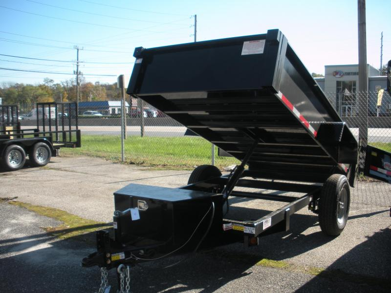 2019 Quality Steel and Aluminum 5' X 10' 6K Dump Trailer