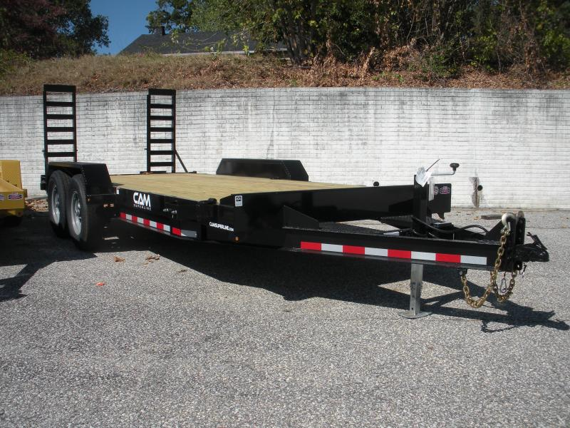"2019 Cam Superline 82"" X 18' 14K Channel Frame with Beavertail  Equipment Trailer"