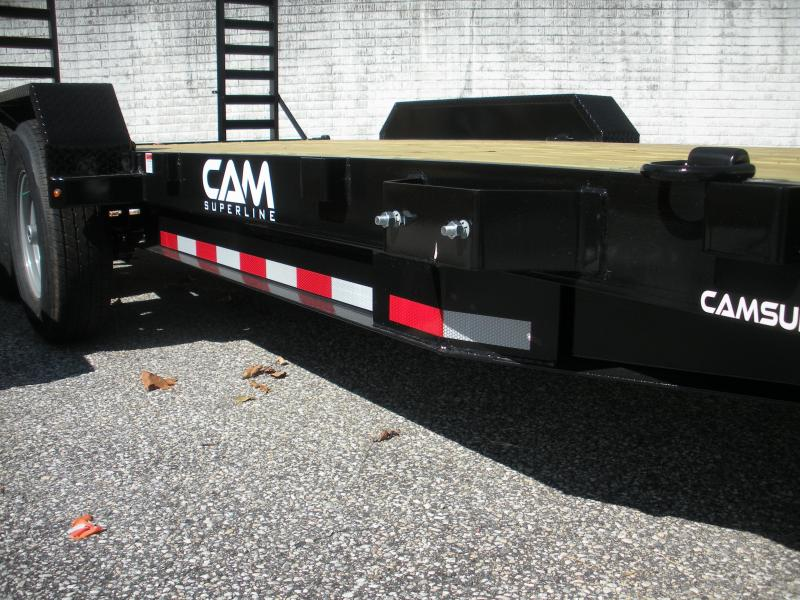"2020 Cam Superline 82"" X 18' 14K Channel Frame with Beavertail  Equipment Trailer"