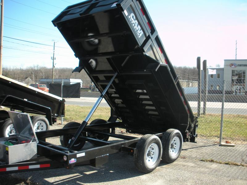 2019 Cam Superline 5CAM 6' X 12' 12K Standard Duty Low Profile Dump Trailer with Ramps