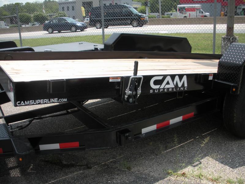 """2020 Cam Superline 81"""" X 18' Full Deck Tilt Trailer Equipment Trailer"""