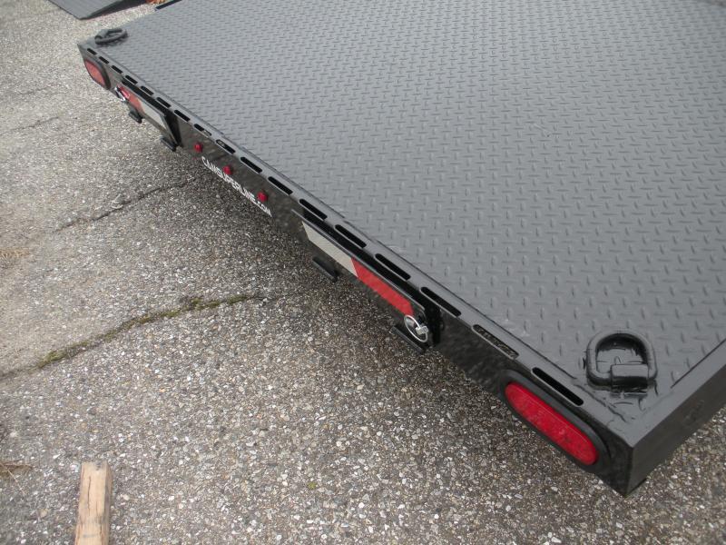 """2020 Cam Superline 82"""" X 18' 10K Steel Deck  Open Car / Racing Trailer"""