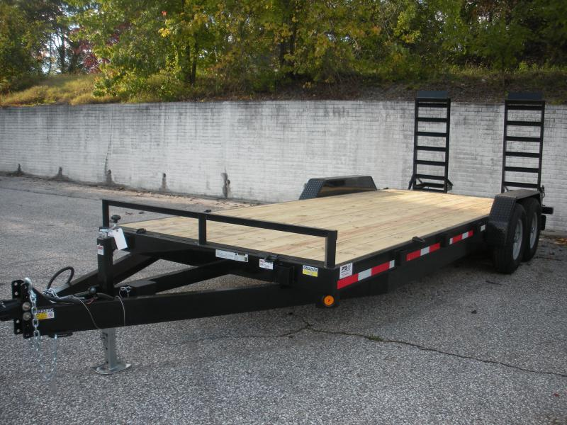 "2019 Quality Steel and Aluminum 83"" X 20' Equipment Trailer"