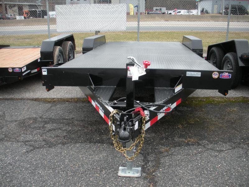 """2020 Cam Superline 82"""" X 18' 7K Steel Deck  Open Car / Racing Trailer"""