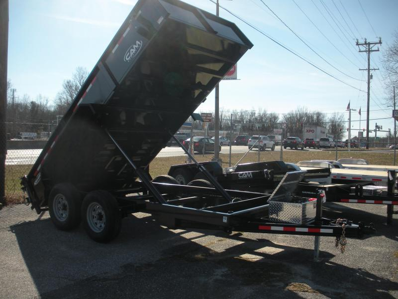 "2020 Cam Superline 81 1/2"" X 12' 12K Heavy Duty Low Profile Dump Trailer"