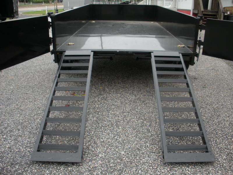 "2019 Cam Superline 81 1/2"" X 12' 12K Heavy Duty Low Profile Dump Trailer"