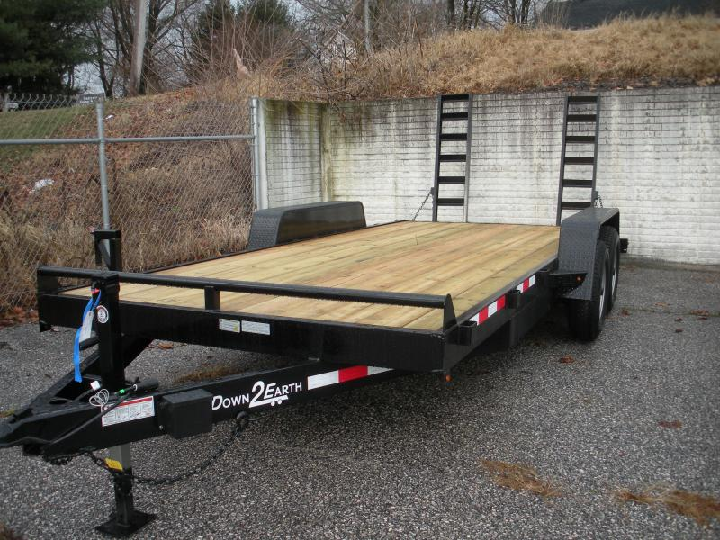 "2020 Down 2 Earth Trailers 82"" X 18' 10K Equipment Trailer"
