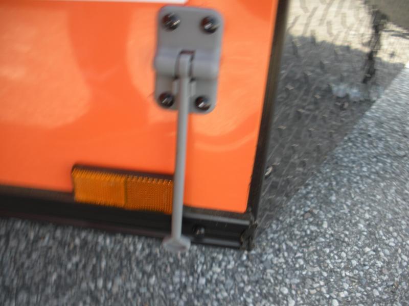 "2020 Anvil 6' X 12' Enclosed ""BLACKOUT"" 2 Tone with Orange Cargo Trailer"