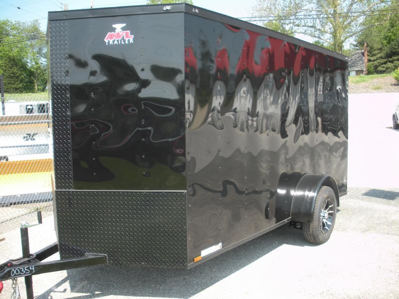 "2020 Anvil 6' X 12' Enclosed ""BLACKOUT"" Cargo Trailer"