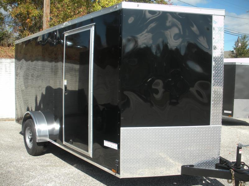 2020 Anvil 7' X 14' 5K Single Axle Enclosed Cargo Trailer